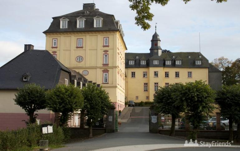 Stein Bad Laasphe Privates Gymnasium Schloss Wittgenstein, Bad Laasphe