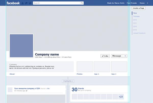 facebook templates free - Ozilalmanoof