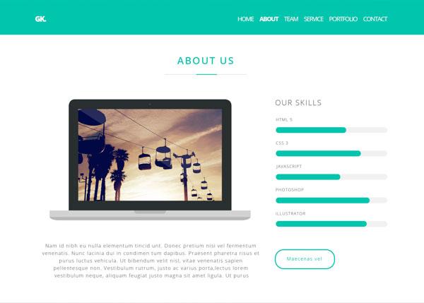 Gerdu Kreatip Free Website Mockup Psd Creative Beacon