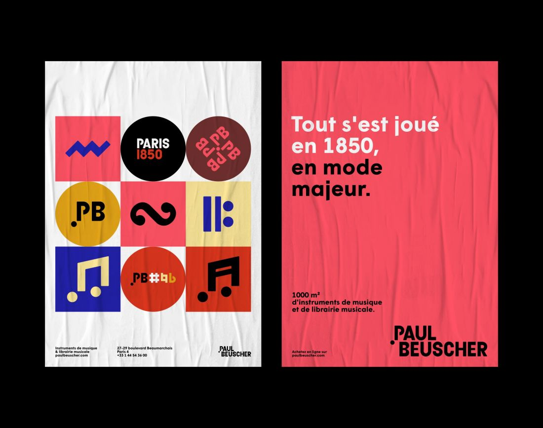 Acheter Store Brand Brothers Orchestrates A New Identity For Paul Beuscher