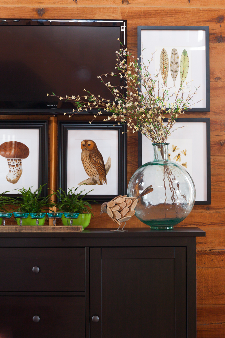 Wallpaper Fall Farmhouse How To Decorate Around A Tv Creative Cain Cabin