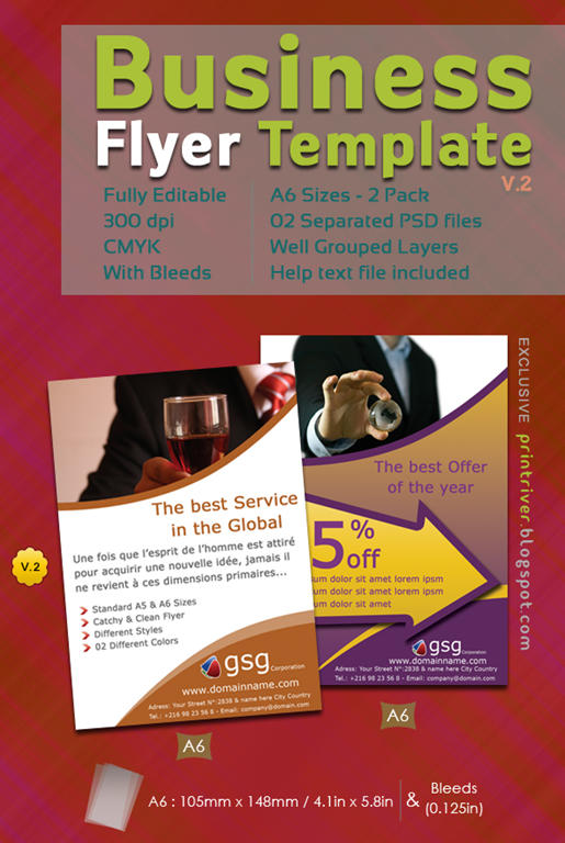 35 Attractive Free Flyer Templates and Designs for Inspiration - free design flyer templates