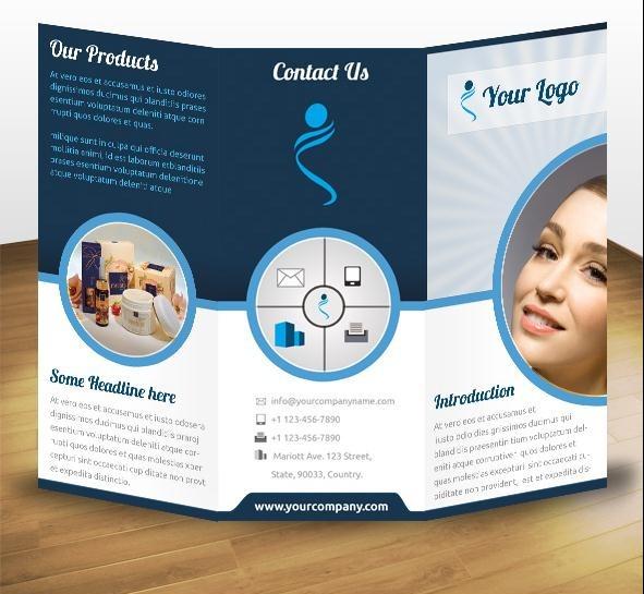 60+ Beautiful Tri-Fold Brochure Designs and Premium Brochure