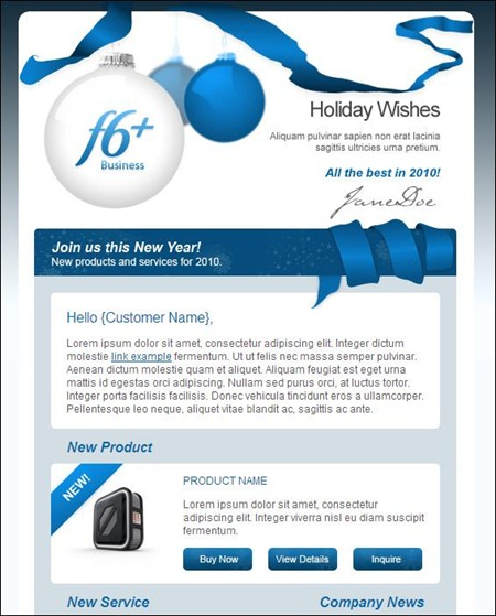 24 Cheerful Christmas Newsletter Templates - Creative CanCreative Can - company newsletter template free