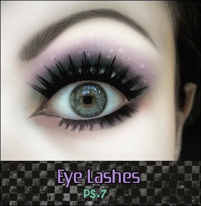 25 Beautiful Photoshop Eye Brushes for Designers - Creative