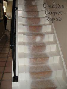 Stair carpet repair creative carpet repair creative carpet repair - Refurbish stairs budget ...
