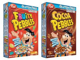 Gluten free Fruity Pebbles Cocoa Pebbles