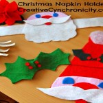 100 Days to Christmas: Day 5: Christmas Napkin Holders
