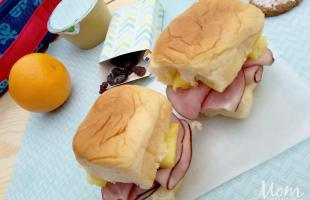 Ham and Pineapple Sliders
