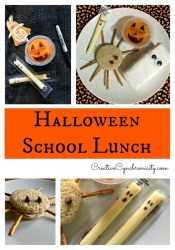 Simple and Fun Halloween Lunch Idea