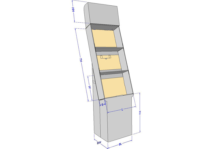 Knowing Your Retail Display Customer Display Height