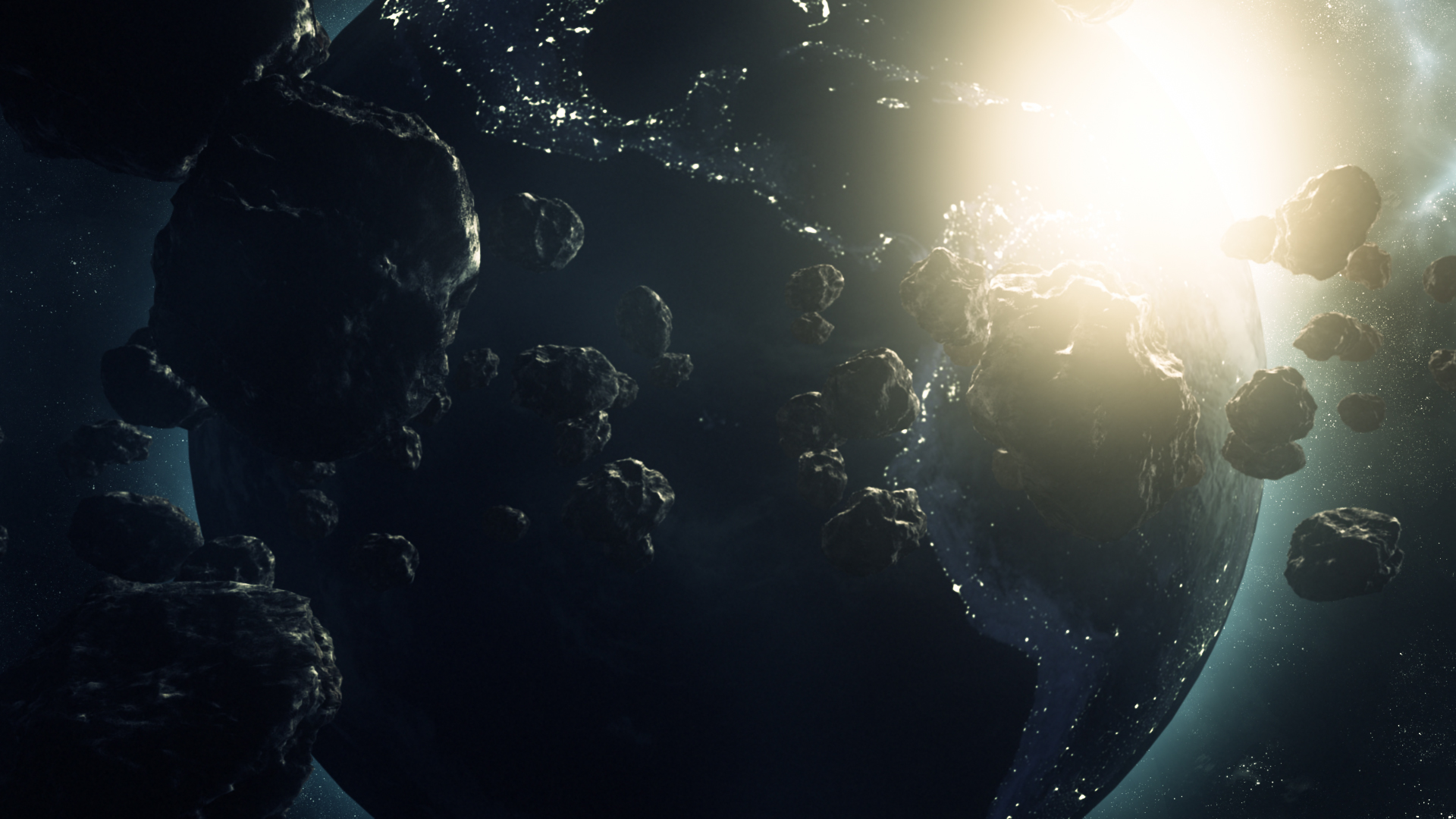 3d Asteroid Wallpaper Planet Asteroid Field Using Element 3d Creativedojo