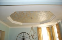 Creative Solutions for Tray Ceilings | A Decorator's Journey
