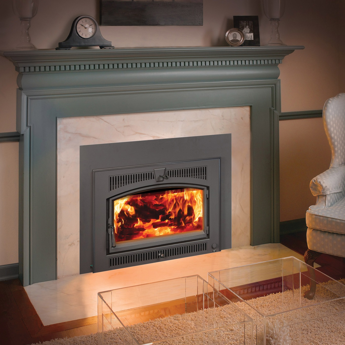 Standard Gas Fireplace Insert Dimensions Large Flush Hybrid Fyre Wood Insert Pleasanton Creative
