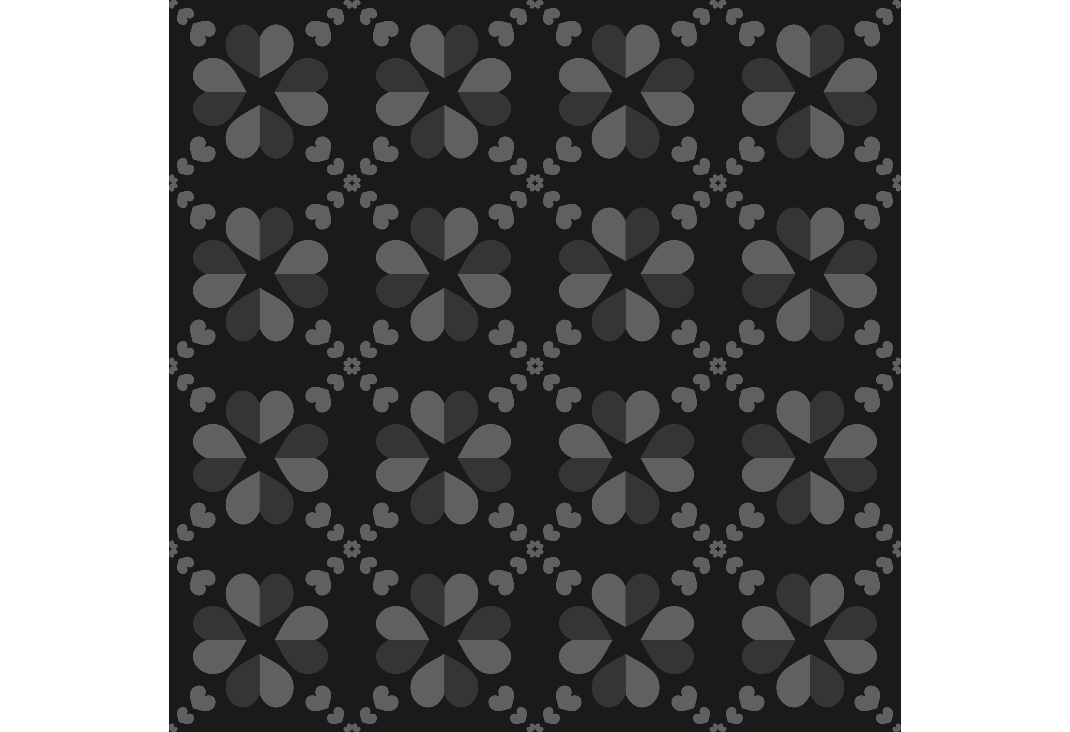 26 Patterns Black Flower Pattern Graphic By Designclusters Creative Fabrica