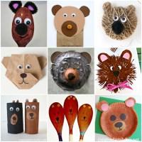 Paper Plate Bear Craft & Panda Bear Paper Plate Craft