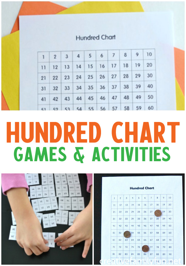 Hundred Chart Activities to Make Math Fun - Creative Family Fun