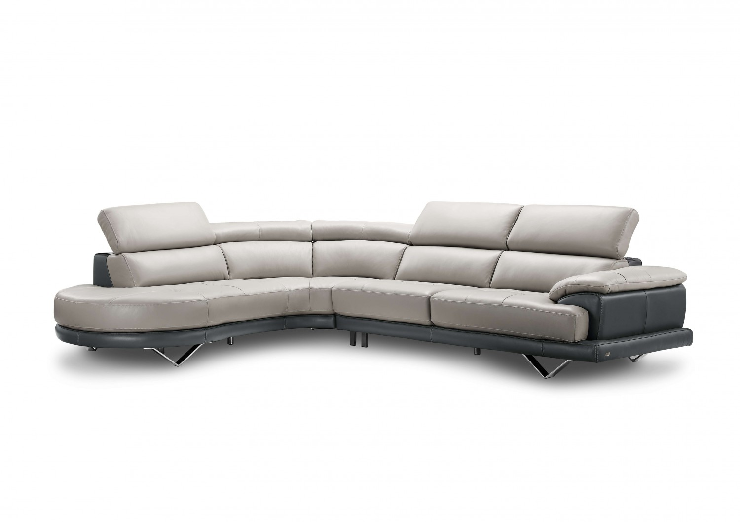 Unusual Sofas To Buy Buy Cecile Leather Sectional Sofas By Creative Furniture