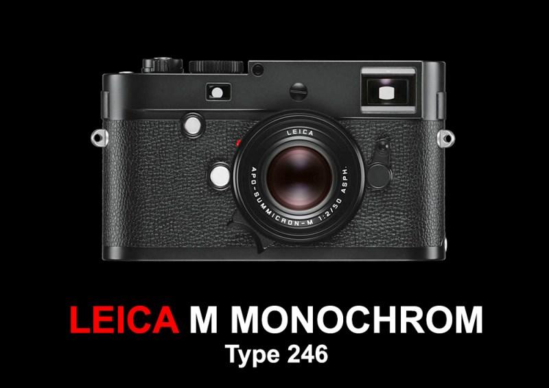 Leica M Monochrom- Type 246