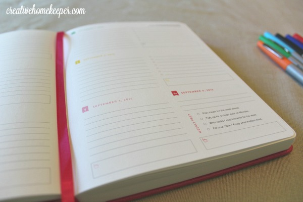 Picking the Right Planner for Intentional Planning {Monthly, Weekly