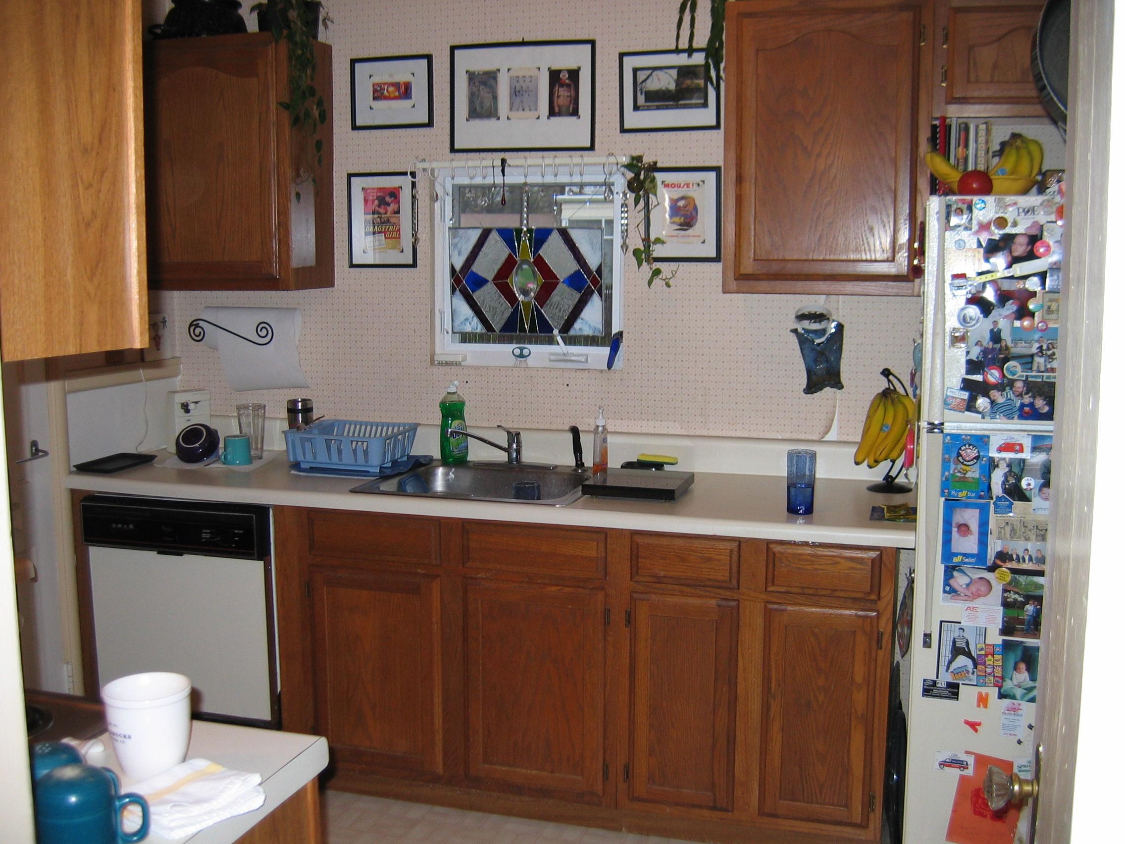 kitchen renovation richmond va kitchen remodel richmond va BEFORE kitchen sink wall
