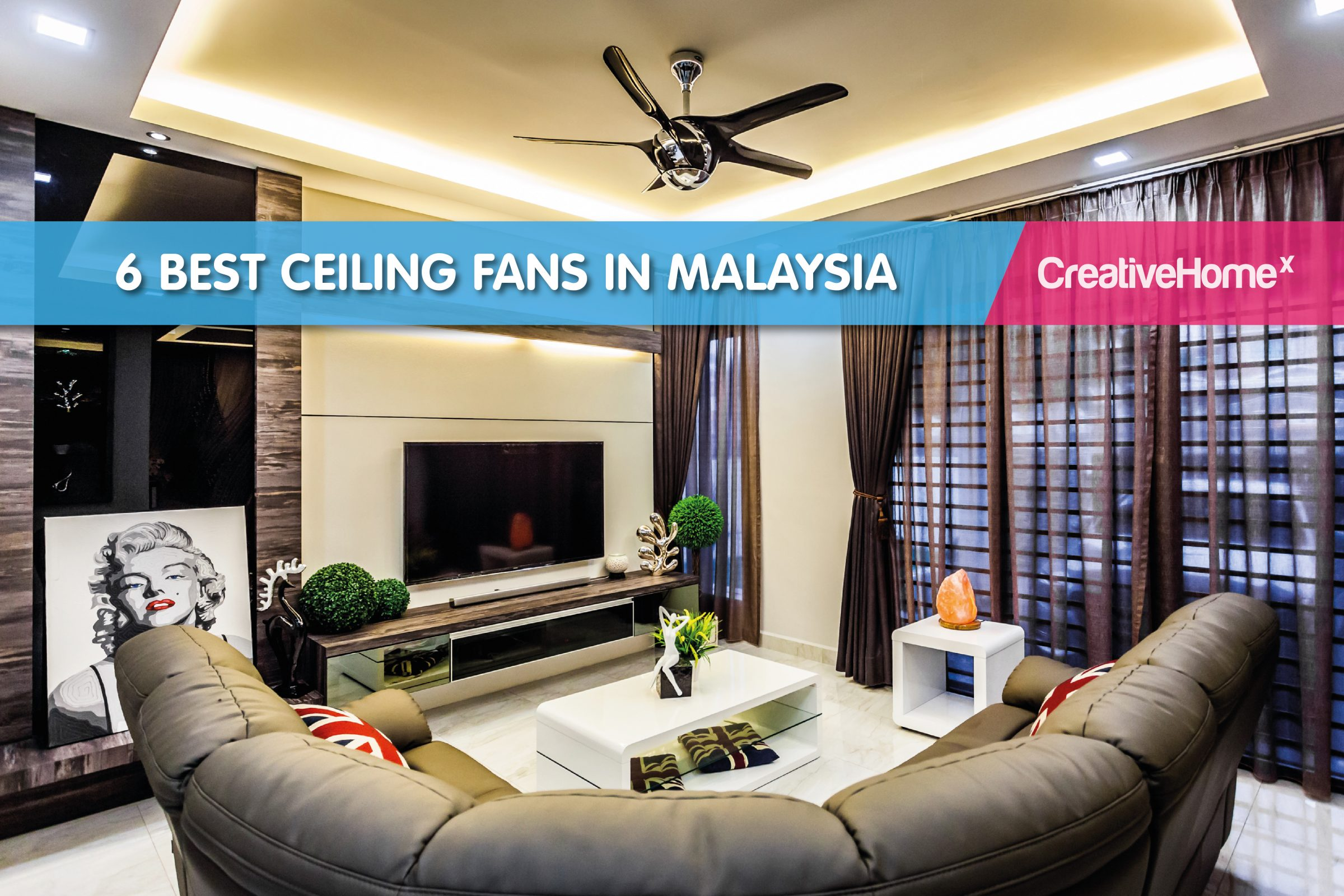Best Ceiling Fans For Small Rooms 6 Best Ceiling Fans In Malaysia Malaysia S No 1 Interior Design