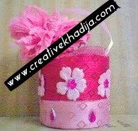 recycling flower basket