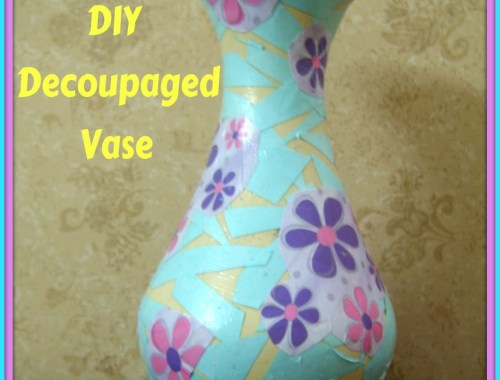 decoupaged-vase