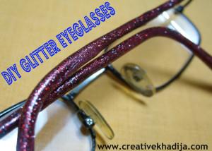 glitter eyeglasses