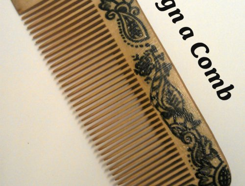 design drawing comb