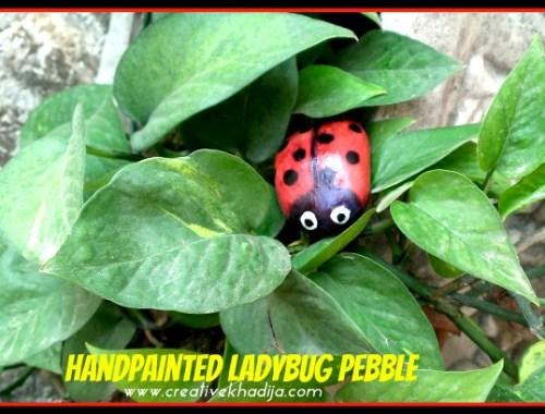 How-To Paint Ladybug Stone-Rock-Pebble