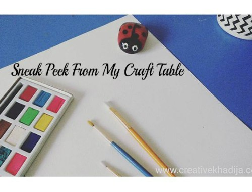 painting with water colors-calligraphy work table inspiration