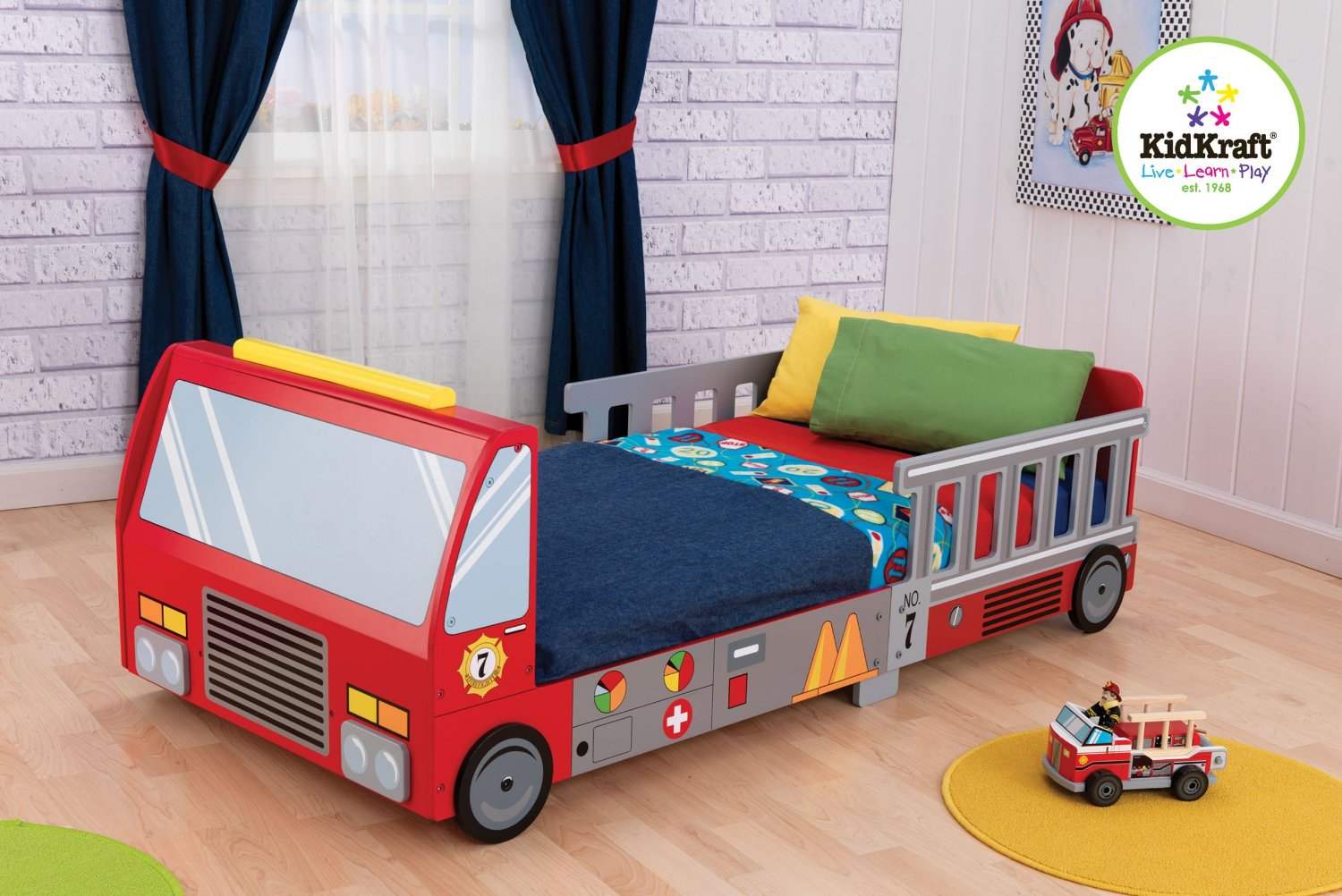 Cool Beds For Boys Fire Truck Bed Creative Kids Room