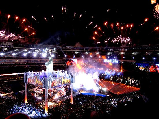 """The """"WrestleMania Experience"""" From The Site Of WrestleMania 29"""