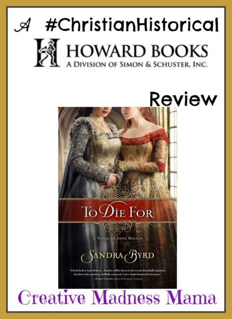 To Die For by Sandra Byrd #amreading #christianhistorical #book #review