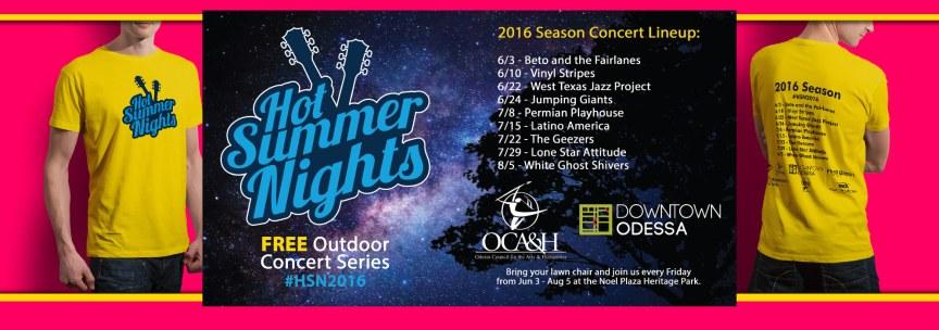 Hot Summer Nights Marketing Material