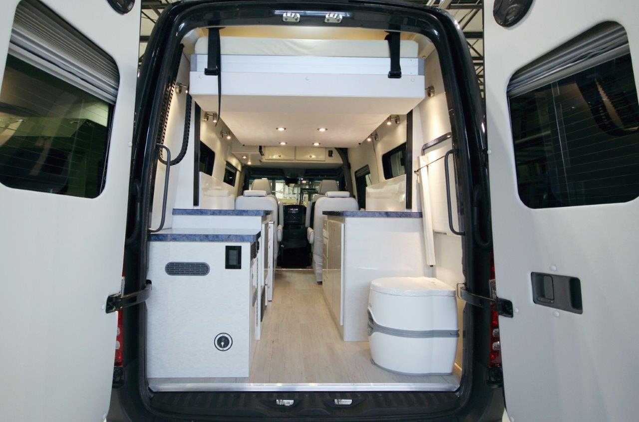 Kitchen Cabinet Lift Sprinter With Euroloft Bed Lift