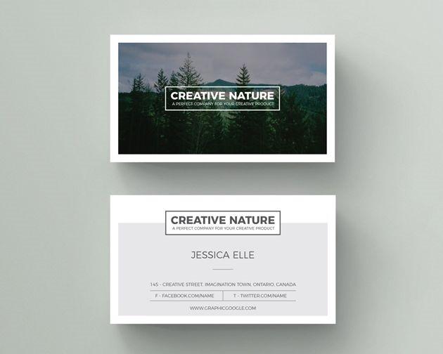 50 free PSD business card template designs Creative Nerds - card design template