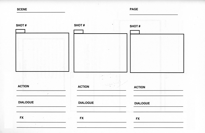 storyboard format