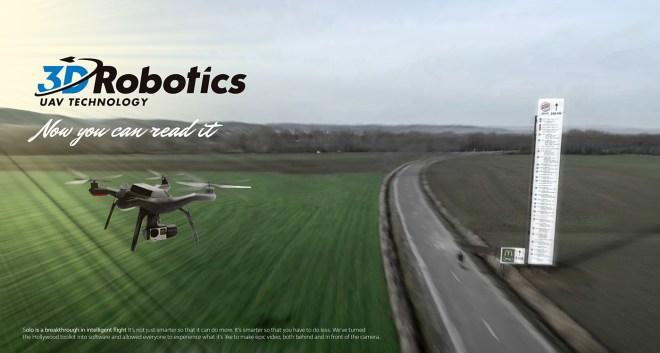 Robotics drone réagit sur l'operation de Mcdonalds