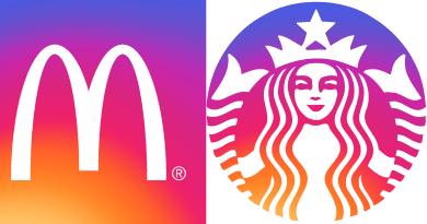 Logos marques version Instagram