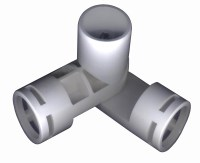 "Adjustable 3-Way Joint Fittings for 1"" PVC (243-3F ..."