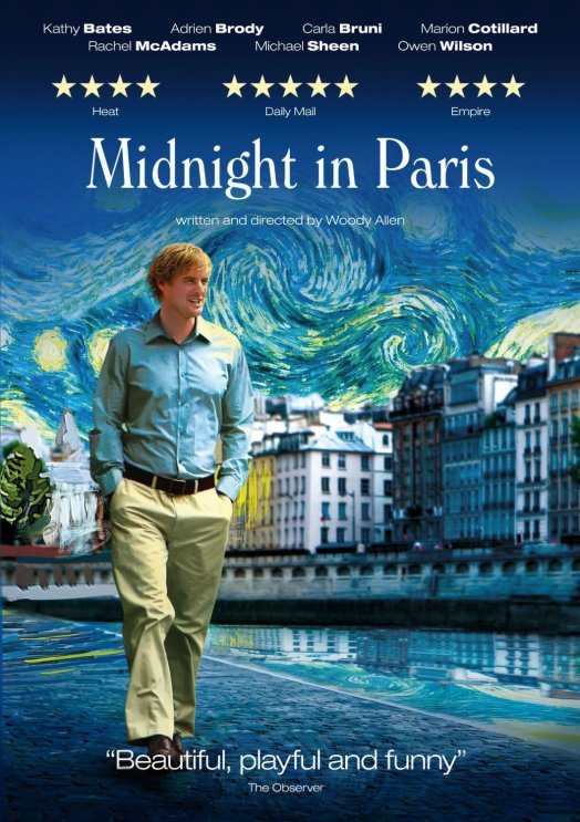 top 5 creatively inspiring movies midnight in paris woody allen