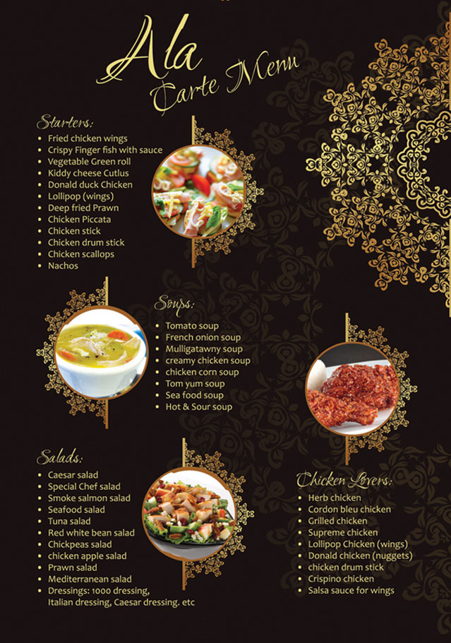 New Window Design Ideas Restaurant Brochure Design Examples For Inspiration