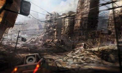 Ruined City - Characters & Art - MotorStorm Apocalypse