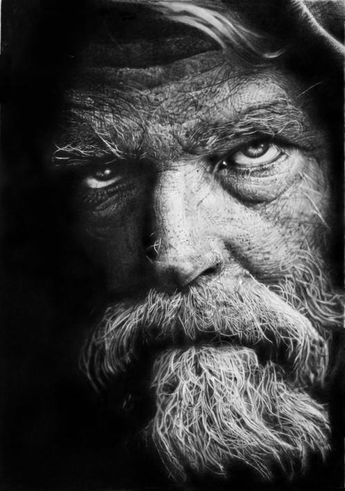 Pencil Drawing by Franco Clun
