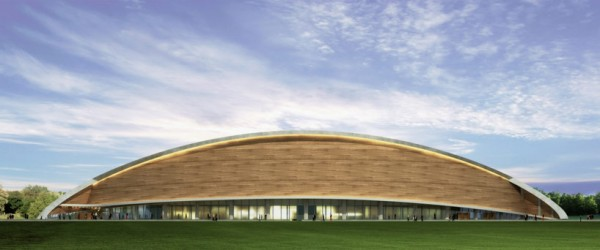 Plans For The New Olympic Sized Swimming Pool In Iraq By Dos Architects.