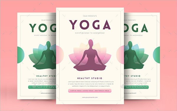 29+ Latest Yoga Flyer Templates - Free  Premium Download - yoga flyer