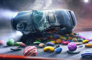 conducir y jugar candy