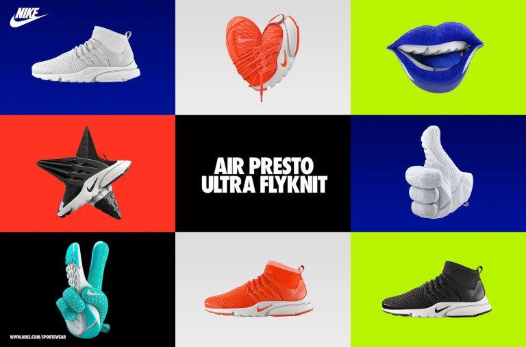 Emojis con las nuevas Nike Presto